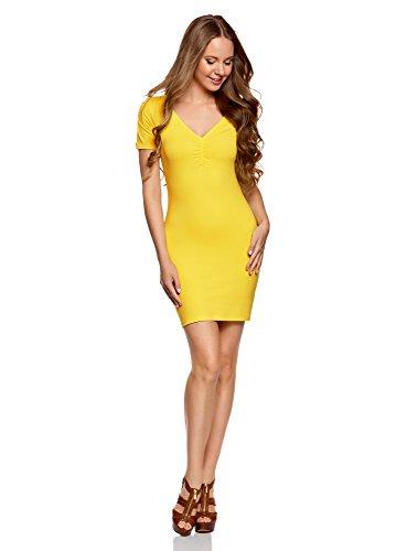 Top 10 oodji Kleid Gelb - Freizeitkleider für Damen - Dabree